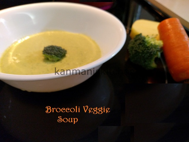 Broccoli-Veggie Soup