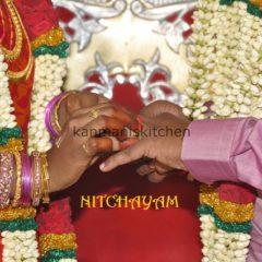 Nitchayathartham / Betrothal / Engagement