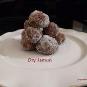 Dry Jamun