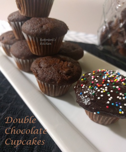 Double Chocolate Cup Cake