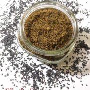 Black Sesame Seed Podi