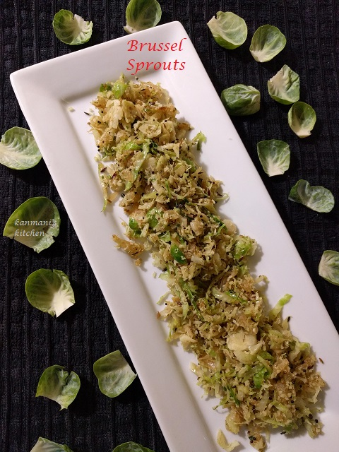 Brussel Sprout Poriyal
