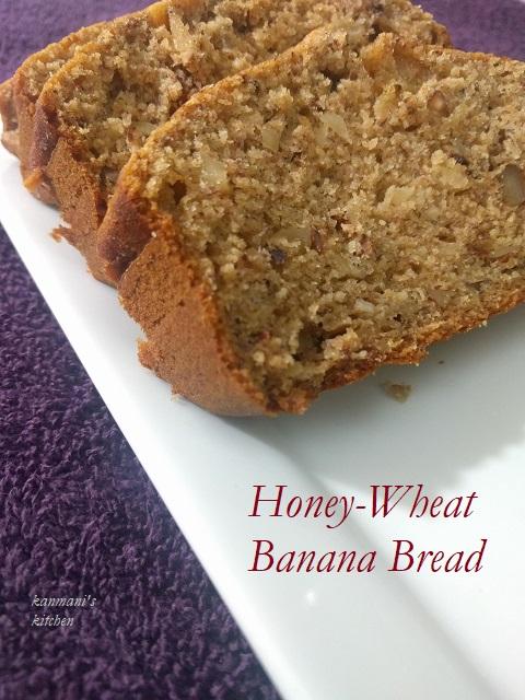 Honey-wheat Banana Bread