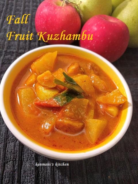 Fall Fruit Kuzhambu