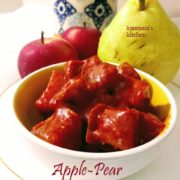 Apple-Pear Pickle