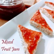 MIXED FRUIT JAM (with Brown Sugar)-Organic