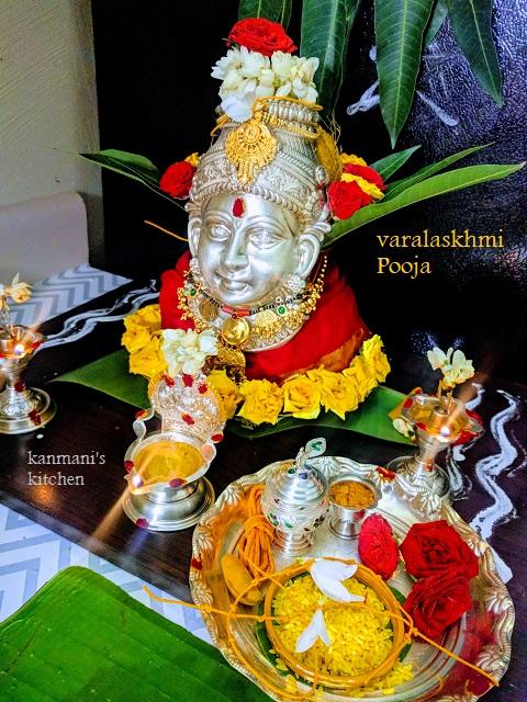 Varalakshmi Vratham Poojai
