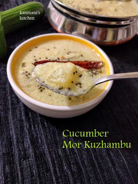 Cucumber Mor Kuzhambu