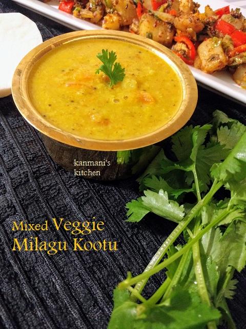 Mixed Veggie Milagu Kootu