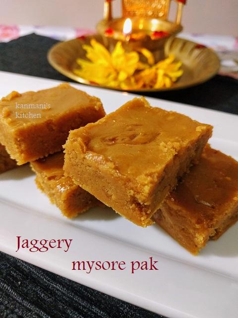 Jaggery Mysore Pak
