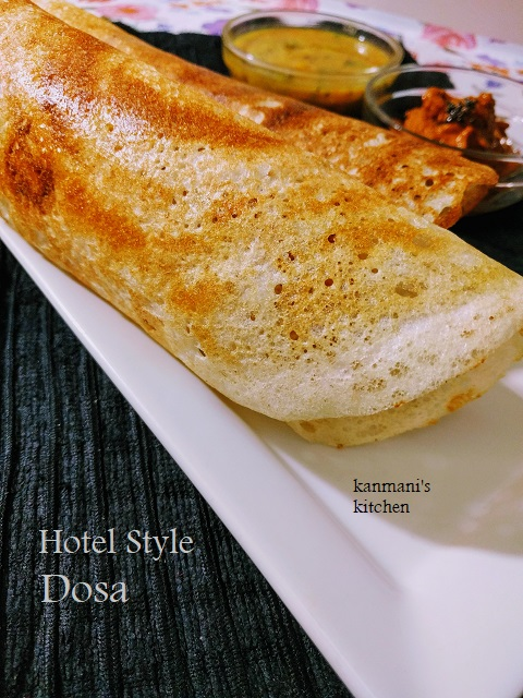 Hotel style Dosa