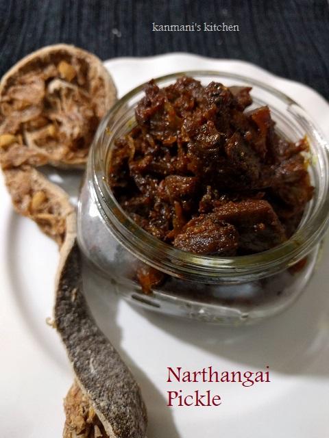 Citron/Narthangai Pickle