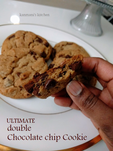 Ultimate Double Chocolate Chip Cookie