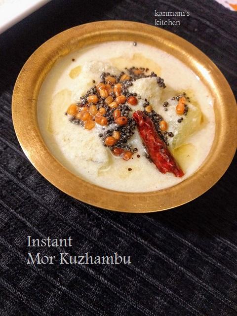 Instant Mor Kuzhambu