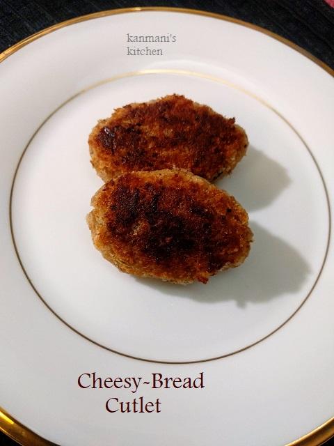 Cheesy Bread Cutlet