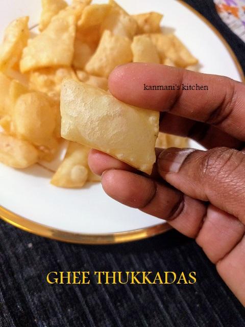Ghee Thukkada
