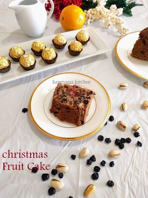 Christmas Fruit Cake(No alcohol)